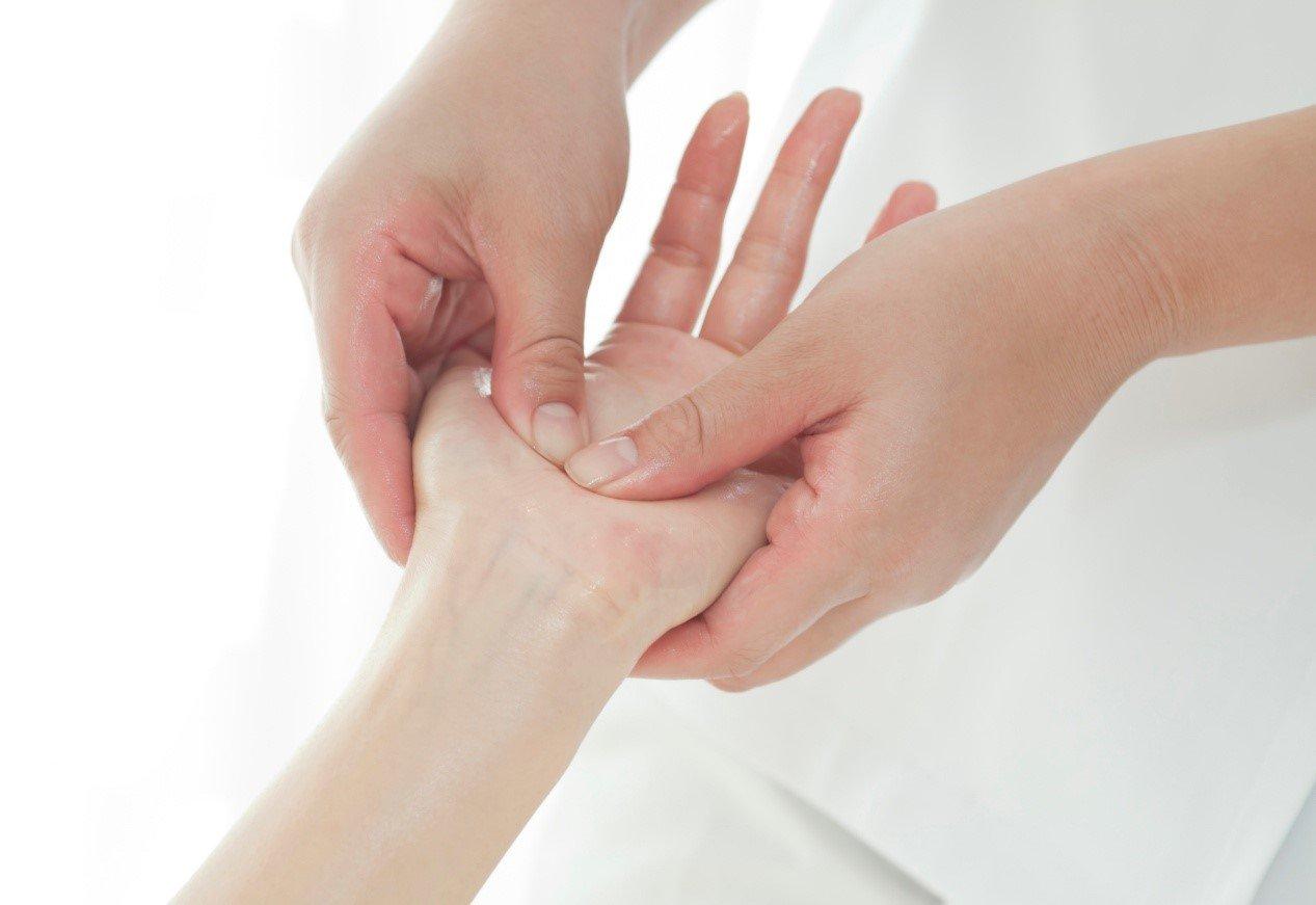 ρεφλεξολογία χεριών