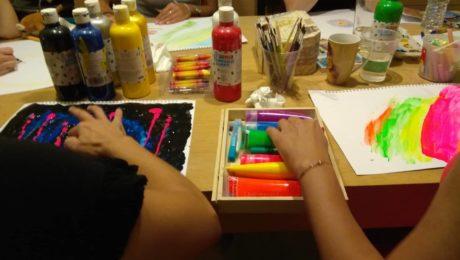 θεραπεία εργαστήρι βιωματικό ζωγραφική